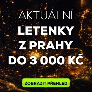 Levné letenky z Prahy